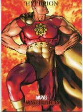 Marvel Masterpieces 2007 Base Card #39 Hyperion