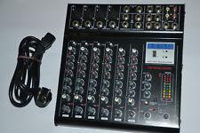 Joe 802e Mixer Red Beat Audio Mischpult Power Mixer Redbeat