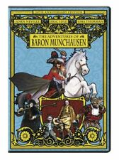 NEW DVD - THE ADVENTURES OF BARON MUNCHAUSEN - ERIC IDLE, ROBIN WILLIAMS, UMA TH