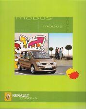 Renault Modus 2004-05 Portuguese Market Sales Brochure Expression Dynamique