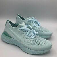 Nike Womens Running Epic React Flyknit 2 Size 8.5 Running Teal BQ8927-300