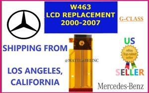🔥MERCEDES BENZ G-class AMG W463 Speedo Instrument Cluster LCD Display 00-07