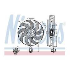 Fits Vauxhall Zafira MK3 1.8 Genuine Nissens Engine Cooling Radiator Fan