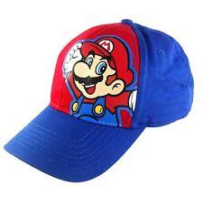 Nintendo Super Mario Youth Baseball Cap Latch & Hook Adjustable Hat 2016