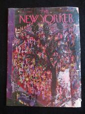 Vintage New Yorker Magazine August 7 1943  Ilonka Karasz cover art