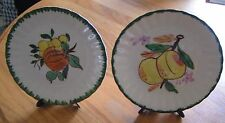 2 County Fair Blue Ridge Colonial Plates, Avon Products
