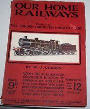 OUR HOME RAILWAYS PART 4 THE LONDON, BRIGHTON & SOUTH COAST GORDON 1930s?