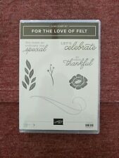 Stampin Up For The Love Of Felt