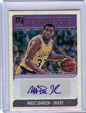 Magic Johnson 2018-19 Donruss Signature Series Auto B LA Lakers #SG-MJS