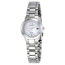 Citizen Silhouette Eco-Drive Mother of Pearl Dial Stainless Steel Ladies Watch