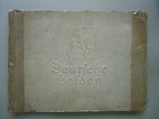 Sammelbilderalbum Deutsche Helden 1640-1918 Kyriazi-Freres Zigarettenfabrik