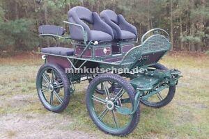Fahrschulwagen 011d Kutsche Wagonette Wagen Marathonwagen Marathon 27'' Kutschen