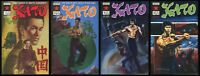 Kato Green Hornet comic set 1-2-3-4 lot Jeet Kune Do Ip Man's student Bruce Lee