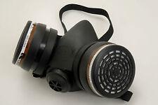 Reusable Spray Paint Half Mask Volatile Organic Vapour Particulate Respirator P3