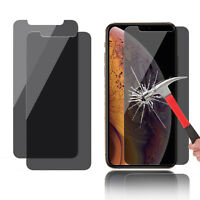 For iPhone XS Max/XR 2018 Anti-Spy Privacy Tempered Glass Screen Protector US RS