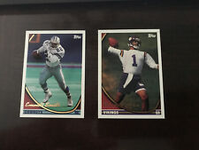 (!)1994 Topps Football Singles Complete, Finish Your Set 1-250-UPDATED- 9-29-20
