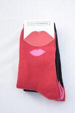 Lulu Guinness Kisses Cotton Socks 3 Pairs