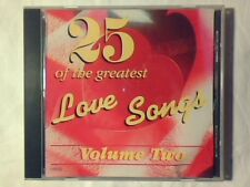 CD 25 Of the greatest love songs 2 PERCY SLEDGE AL JARREAU COME NUOVO LIKE NEW!!