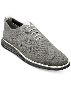 Cole Haan 251970 Mens Original Grand Oxfords Gray/Magnet Size 13 Medium