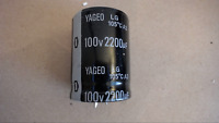 YAGEO 2200UF 100V 105C Snap In Capacitor New Lot Quantity-5