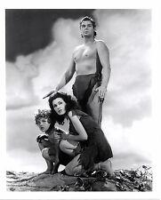 Original Tarzan Johnny Weismuller Maureen O'Sullivan Sheffield Promotional Photo