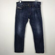DIESEL Safado Regular Slim Straight Mens Jeans Size 34 Actual 36x32 Button Fly