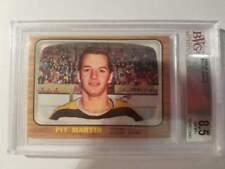 1966-67 Topps Hockey #41 Pit Martin (Bruins) BVG 8.5 NM-MT+ (Box DP)