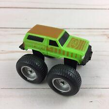 Vintage 1987 McDonald's BIGFOOT Monster Ford Bronco Toy Truck Green