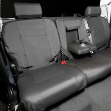 NEW OEM GM 3rd Row Seat Covers Satin Ebony 12499943 Suburban Tahoe Yukon 07-09