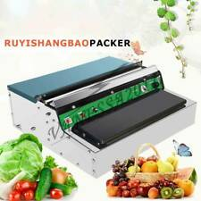 New 220V Stainless Steel Food Film Wrapping Wrapper Supermarket Packing Use