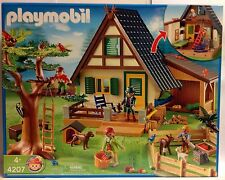 Playmobil 4207 Forest Ranger's Lodge/House - NEW