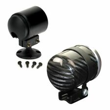 Stack Pedestal Auxiliary 52mm Gauge Mount - Electrical/Mechanical - Carbon Fibre