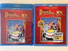 NEW/SEALED - Who Framed Roger Rabbit? (Blu-ray/DVD, 2013, 2-Disc, 25th Anniv