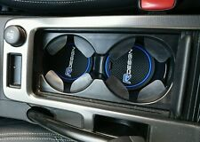Volvo XC60 S60 V60 V50 C30 R Design cup holder mats Blue only
