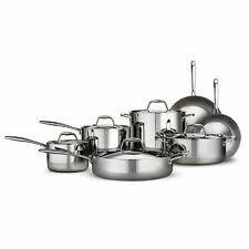 NEW Member's Mark 12-Piece Tri-Ply Clad Stainless Steel Cookware Set