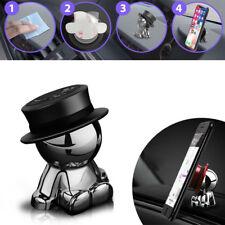 360° Rotation Magnetic Car Mount Phone Tablet Holder Stick On Dashboard Hat Man