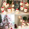 10/20 LED Natale Filo Luci Babbo Natale Decorazione Casa Lampade Festa