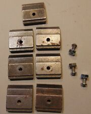 Lot Tefloy Support Blocks Cp10 10a Carter Cp10 Band Saw Guide Jaws Blade