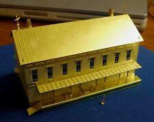 1089 Micron Art, Z-scale Jaxon Bean Mercantile & Mississippi Whiskey Brass Kit