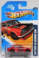 DATSUN BLUEBIRD 510 * 2012 HOT WHEELS * CARDS MAY HAVE SOFT CORNERS * RED