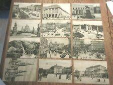 ANTIQUE SET  12  POSTCARDS WERTHEIM BERLIN  UNUSED ORIGINAL WRAP 1910'S