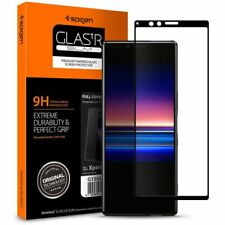 Spigen SGP Tempered Glass Full Cover GLAS.tR for SONY XPERIA 1 CASE FRIENDLY-BLK