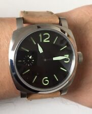 Military watch with original Swiss ETA UNITAS  6497