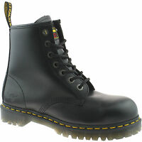 MENS DR MARTENS SAFETY WORK BOOTS SIZE UK 5 - 13 STEEL TOE CAP ICON 7B10 KD