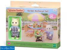 Sylvanian Families 4869 Garten Grill Set Garden Barbecue Set Epoch Neu OVP
