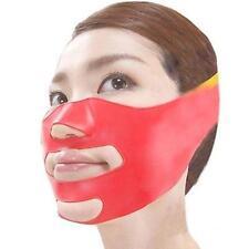 Lady Women 3D V-Line Sleeping Face Lift Slim Shaping Cheek Chin Strap Band S