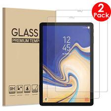 2X protector de pantalla de vidrio templado Pack Funda Protector Para Tablet Samsung Galaxy