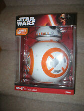 STAR WARS  BB-8 3D DECO LIGHT, NEVER OPENED,  BATTERY OPERATED, GREAT FOR KIDS