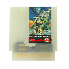 42 In 1  Castlevania Remix Nintendo NES Games Cartridge 16BIT 72PIN Glowing Case