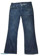 Rock & Republic Women's Size 30 Dark Wash Flap Pocket Boot Cut 5 Pocket Jeans